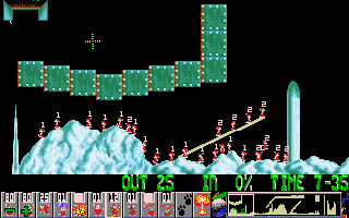 Holiday Lemmings '93